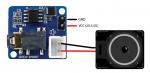 Esquema de conexión Amplificador Mono Open-Smart