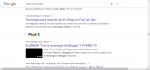 Búsqueda en Google de Blogs de tecnología