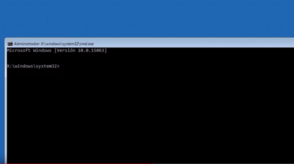 CMD desde Recuperación de Windows 10