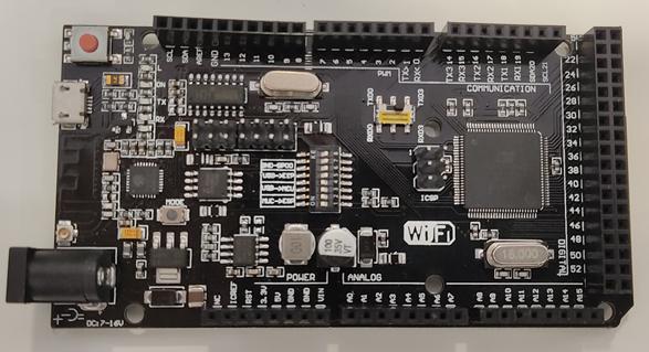 Swich puerto serie de Mega + WiFi R3 ATmega2560 + ESP8266 32Mb parte suprior